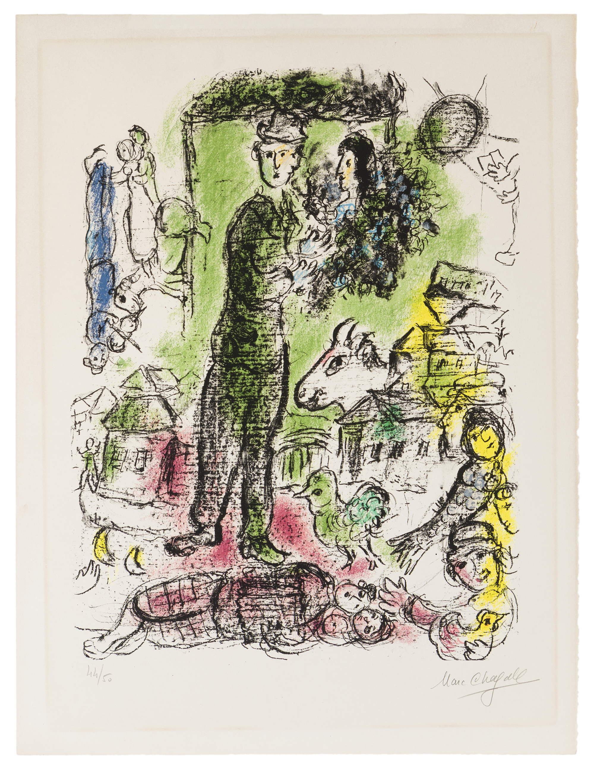 Marc Chagall (1887-1985 French)