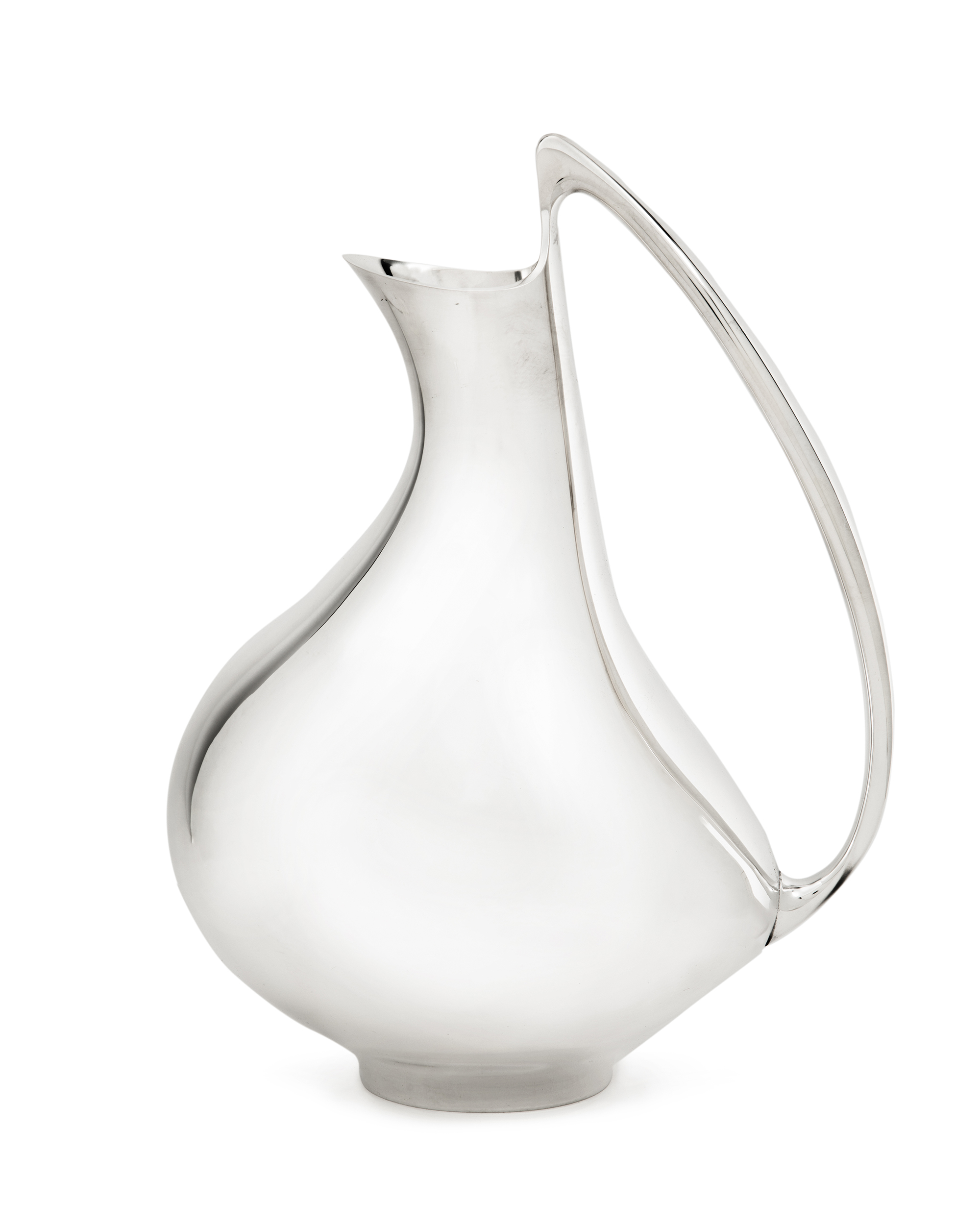A Henning Koppel for Georg Jensen sterling pitcher, No. 992