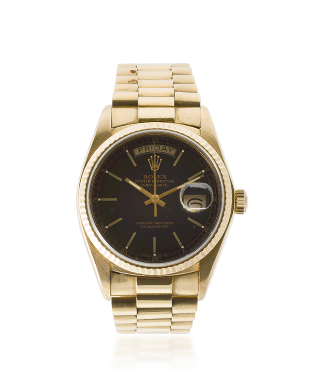 A Rolex Presidential watch