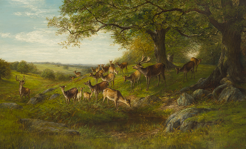Arthur Fitzwilliam Tait (1819-1905 Yonkers, NY)