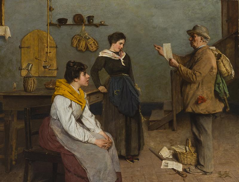 Luigi Scaffai (1837-1899 Italian)
