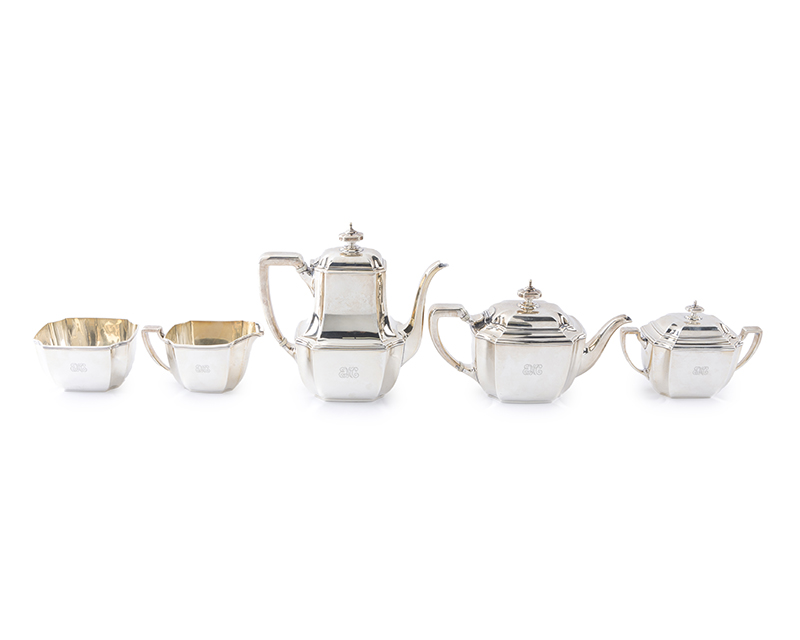 "A Tiffany & Co. ""Hampton"" sterling silver tea and coffee service"