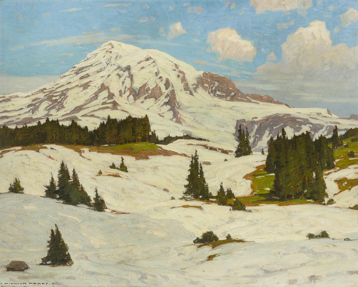 William Wendt ANA (1865-1946 Laguna Beach, CA)