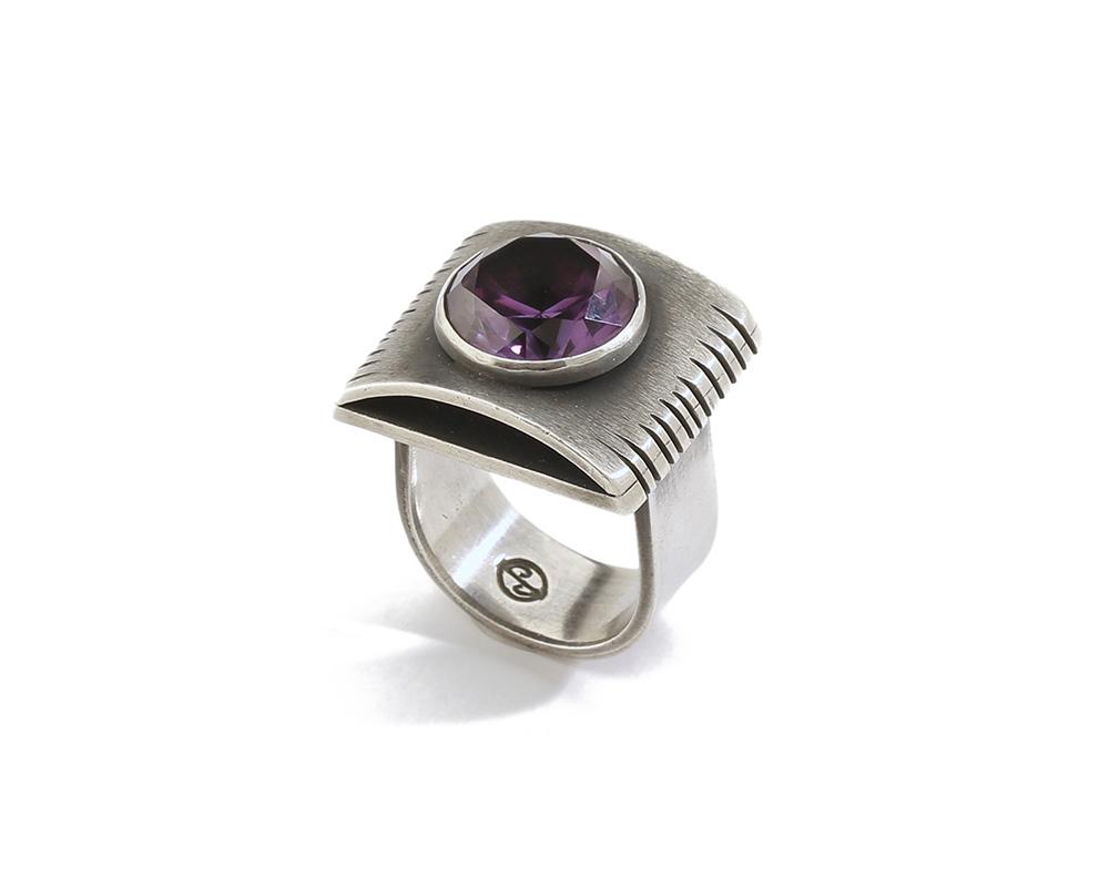 A James Parker gem-set ring