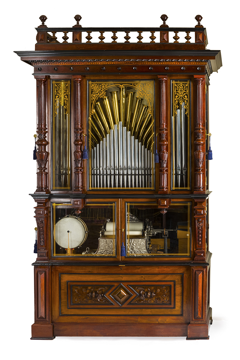 """An M. Welte & Sohne style 3 """"Cottage"""" orchestrion"""