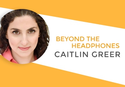 Talking about narration, voice overs, and artists with Caitlin Greer