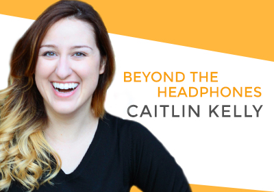 Talking about becoming a narrator and overcoming mental illness with Caitlin Kelly