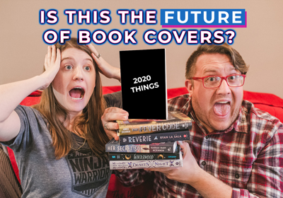 Is this the future of book covers?!