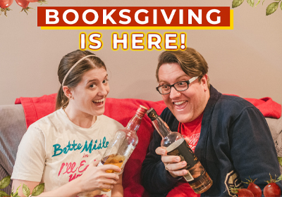 Booksgiving is here!