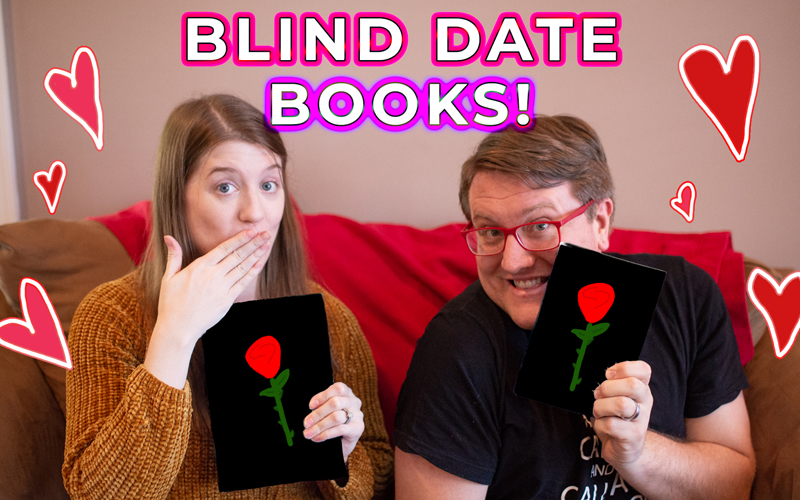 Setting each other up on blind dates.....with books!