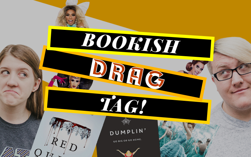 The Bookish Drag Tag