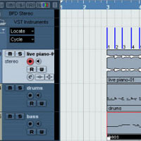 Preview for Using Hitpoints and Markers in Cubase 4 to Create a Tempo Track