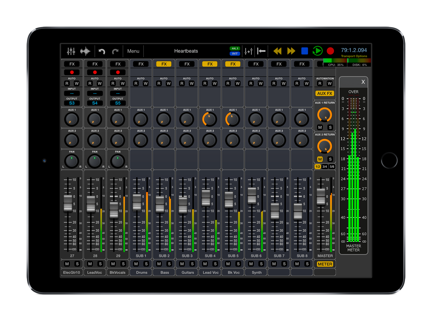 Auria Pro Now Available on the App Store Image