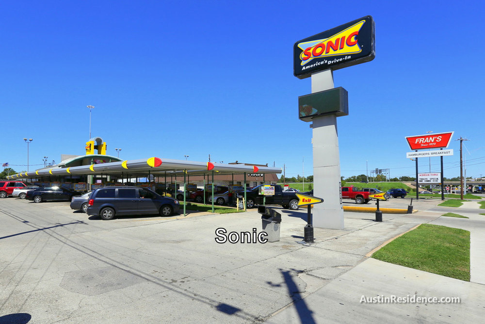 Cameron Road Sonic Drive In