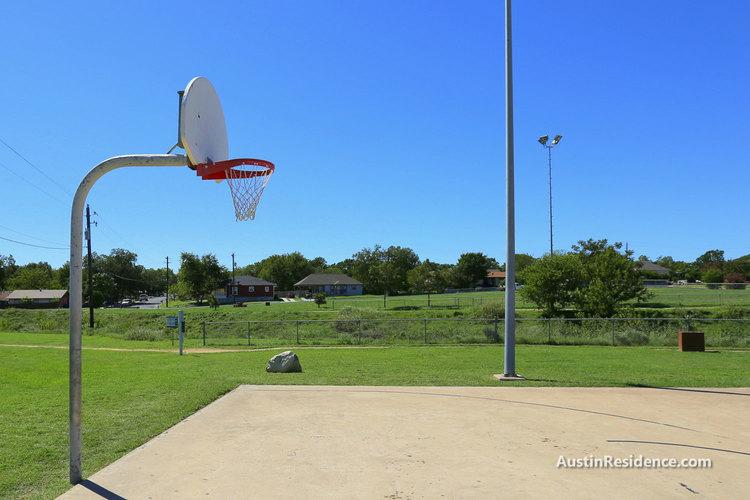 Cameron Road Buttermilk Branch Greenbelt Basketball Court