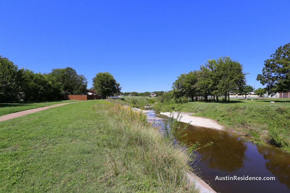 Cameron Road Buttermilk Branch Creek