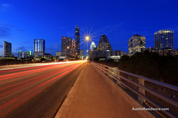 Downtown Austin Congress Bridge