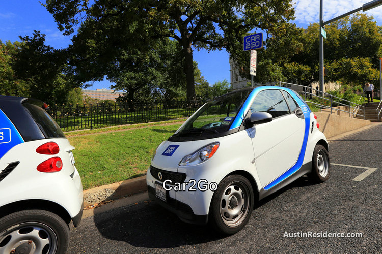Downtown Austin Car2Go
