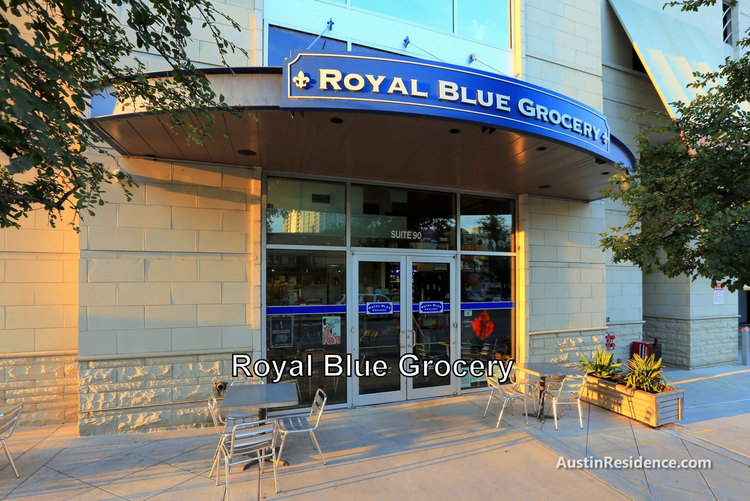 Downtown Austin Royal Blue Grocery