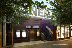 Downtown Austin Violet Crown Cinema