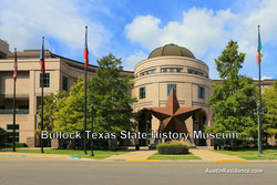 Downtown Austin Bullock Texas State History Museum