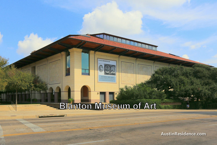 Downtown Austin Blanton Museum of Art
