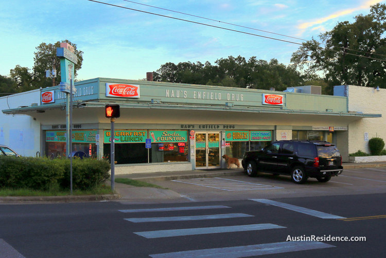 Downtown Austin Naus Enfield Drug Store