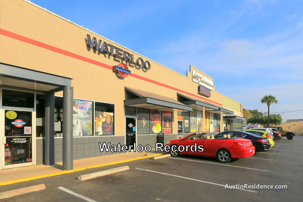 Downtown Austin Waterloo Records