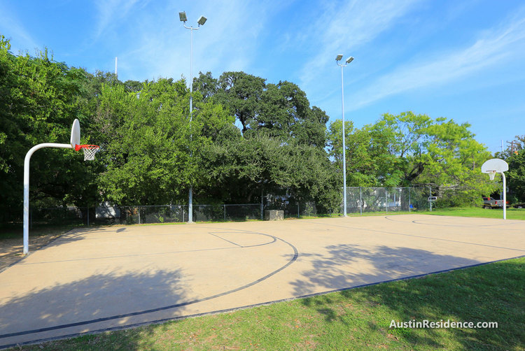 Downtown Austin Clarksville Park Basketball Court