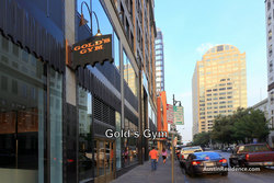 Downtown Austin Gold's Gym