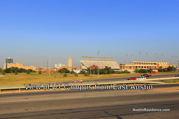 East Austin UT Campus View