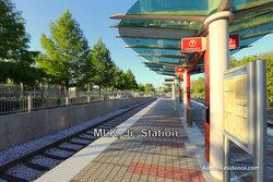 East Austin MLK MetroRail Station