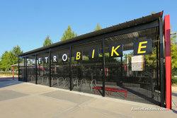 East Austin MetroBike Shelter MLK Station