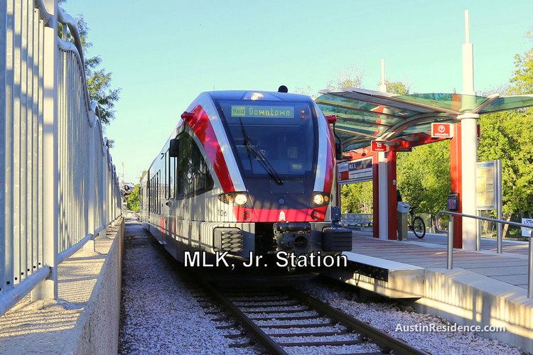 East Austin Red Line MLK Station