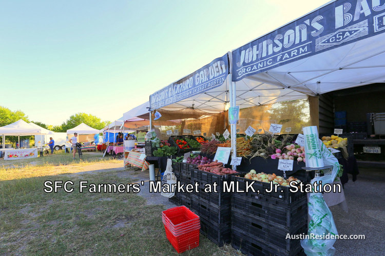 East Austin Farmers Market at MLK Station