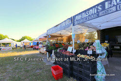 East Austin Farmers Market at MLK Station