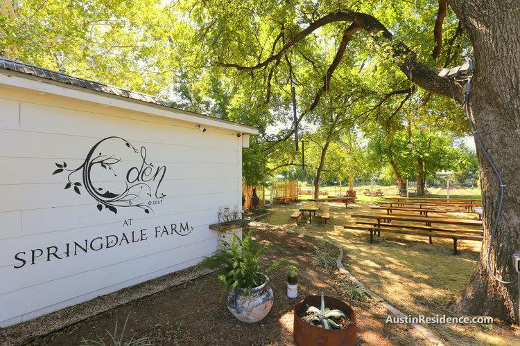 East Austin Eden East at Springdale Farm