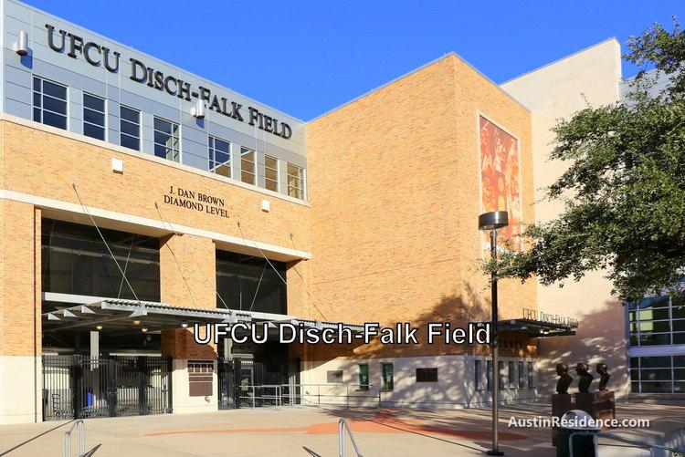East Austin UT UFCU Disch Falk Field