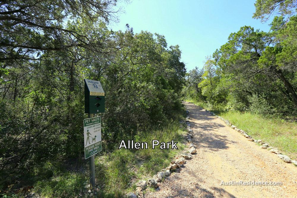 Far West Allen Park Trail