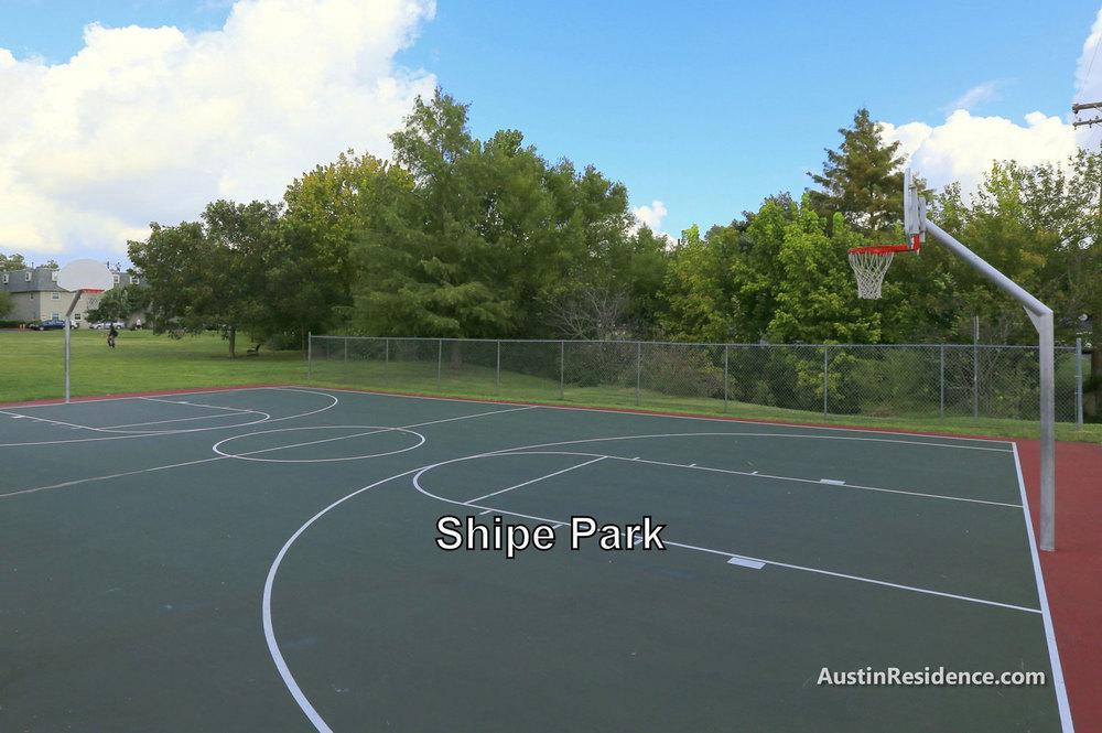 Hyde Park Shipe Park Basketball Court