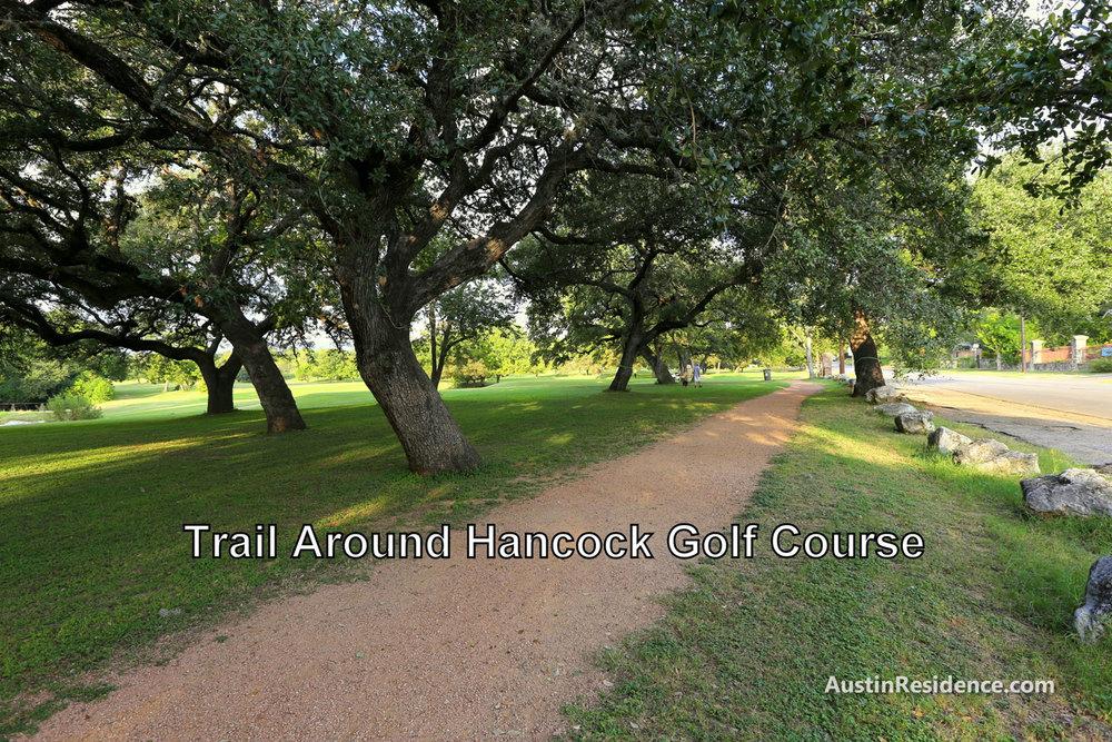 Hyde Park Hancock Golf Course Trail