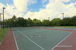 Hyde Park Shipe Park Tennis Courts