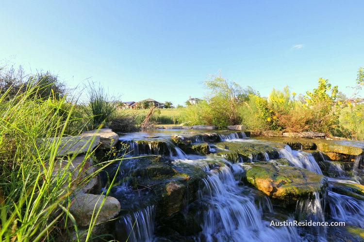 Mueller Southwest Greenway Waterfall