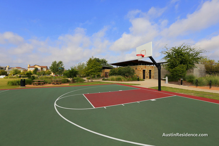 Mueller Ella Wooten Park Basketball Court