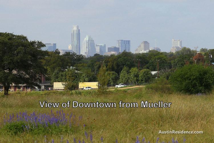 Mueller Downtown Austin View