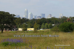 Mueller Downtown Austin View