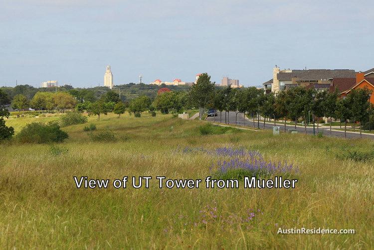 Mueller UT Tower View
