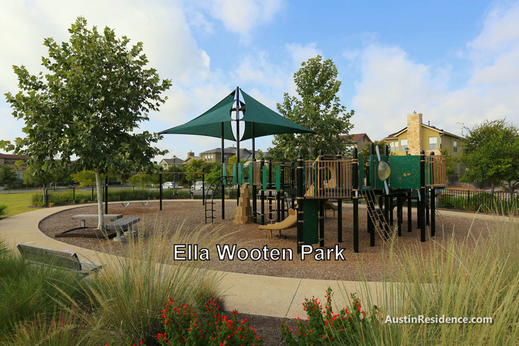 Mueller Ella Wooten Park Playground