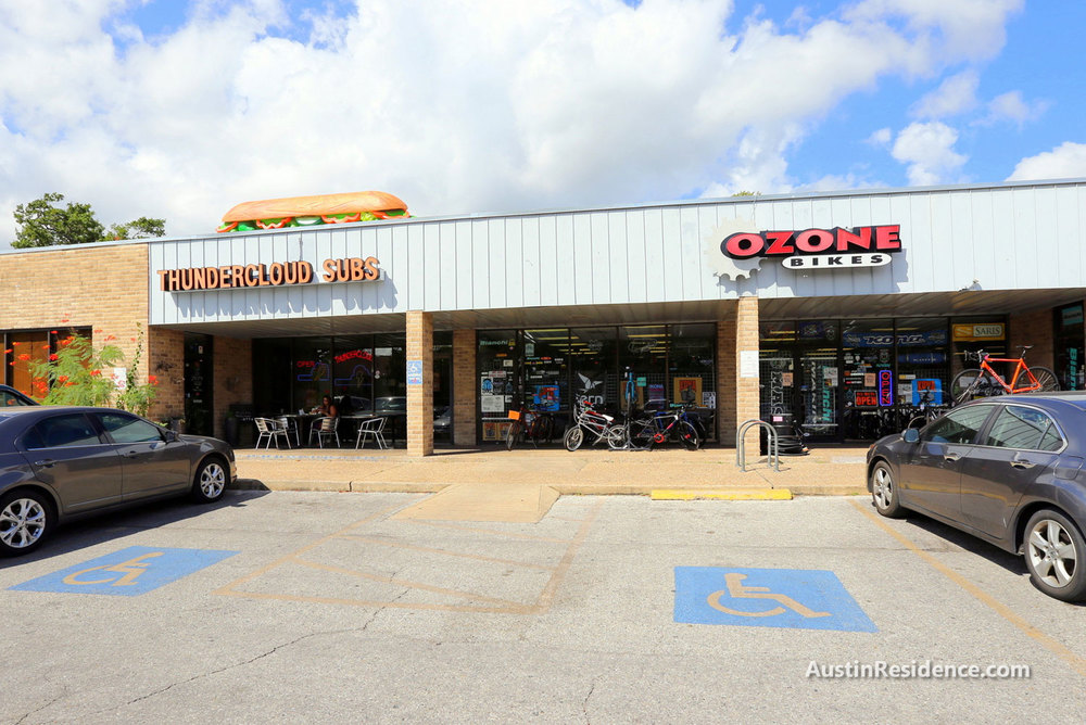 North Campus Ozone Bikes and Thundercloud Subs