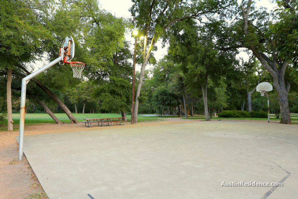 North Campus Eastwoods Park Basketball Court